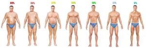body fat percentage men