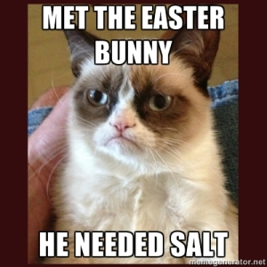 grumpy cat easter