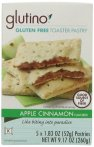 Glutino Apple Cinnamon Toaster Pastry