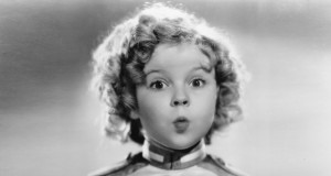 shirley temple surprised