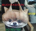 doge fashion shopping handbag purse
