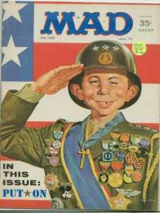 Mad Magazine Patton
