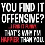 offensive funny