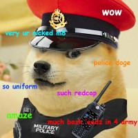 police doge