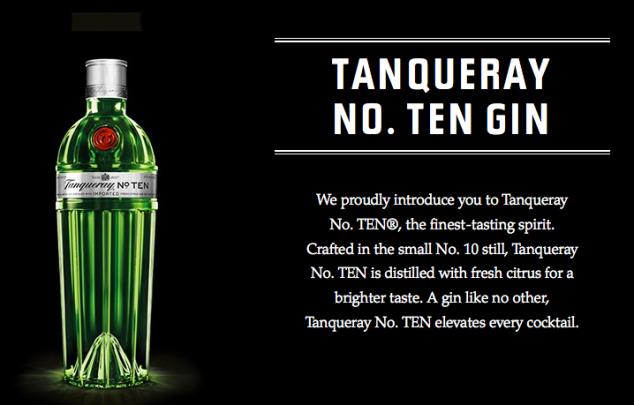 Tanqueray No 10