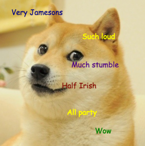 Doge St. Patrick's Day 2015